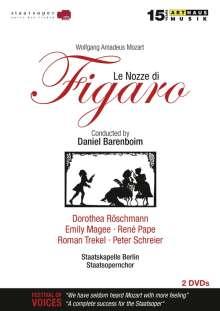 Wolfgang Amadeus Mozart (1756-1791): Die Hochzeit des Figaro (mit Arthaus-Katalog 2015/2016), 2 DVDs