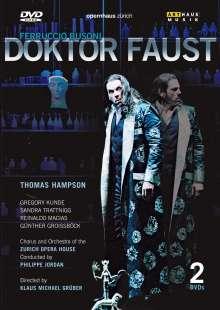 Ferruccio Busoni (1866-1924): Doktor Faust, 2 DVDs