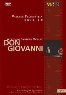 Wolfgang Amadeus Mozart (1756-1791): Don Giovanni (Walter Felsenstein-Edition), 2 DVDs