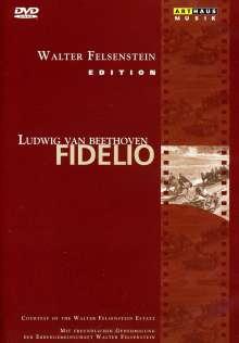 Ludwig van Beethoven (1770-1827): Fidelio op.72 (Walter Felsenstein-Edition), DVD
