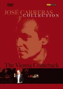 Jose Carreras - Vienna Comeback Recital, DVD