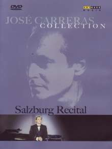 "Jose Carreras Collection ""Salzburg Recital"", DVD"