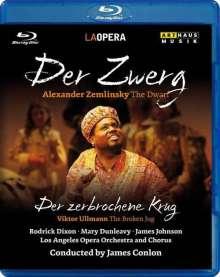 Alexander von Zemlinsky (1871-1942): Der Zwerg, Blu-ray Disc
