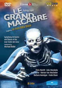 György Ligeti (1923-2006): Le Grand Macabre, 2 DVDs