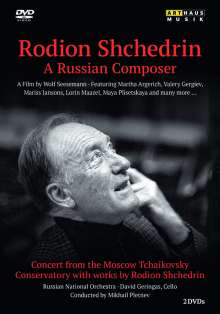 Rodion Schtschedrin (geb. 1932): Rodion Schtschedrin - A Russian Composer, 2 DVDs