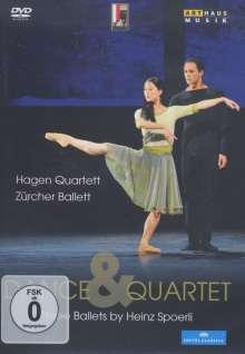 Zürcher Ballett - Dance & Quartet, DVD