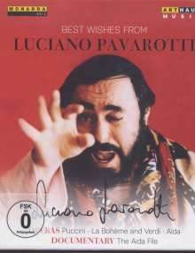 Luciano Pavarotti - Best Wishes From Luciano Pavarotti (2 Operngesamtaufnahmen + Dokumentation), 3 Blu-ray Discs