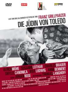 Die Jüdin von Toledo (Salzburger Festspiele 1990), DVD