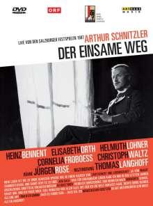 Der einsame Weg (Salzburger Festspiele 1987), DVD