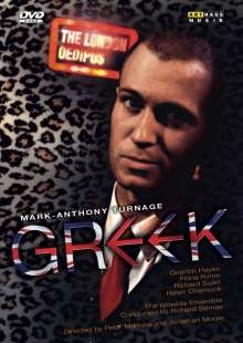 Mark-Anthony Turnage (geb. 1960): Greek, DVD
