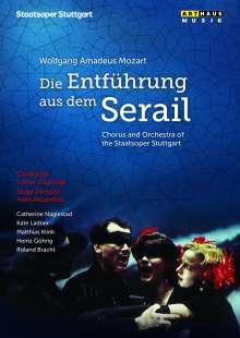 Wolfgang Amadeus Mozart (1756-1791): Die Entführung aus dem Serail, DVD
