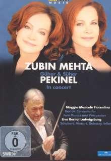 Güher & Süher Pekinel und Zubin Mehta in Concert, DVD