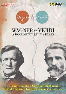 Wagner vs. Verdi - Eine Dokumentation in 6 Teilen, DVD