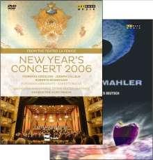 Neujahrskonzert 2006 (Teatro la Fenice) mit Kurt Masur, 2 DVDs