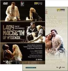 Dmitri Schostakowitsch (1906-1975): Lady Macbeth von Mtsensk, 3 DVDs