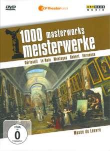 1000 Meisterwerke - Musee Du Louvre, DVD