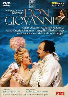 Wolfgang Amadeus Mozart (1756-1791): Don Giovanni, DVD