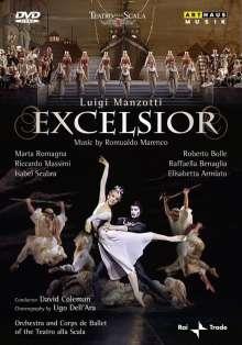 Ballett der Mailänder Scala:Luigi Manzotti - Excelsior, DVD