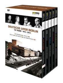 Deutsche Oper Berlin - 100 Jahre (1912-2012), 6 DVDs