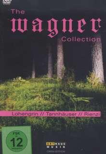 Richard Wagner (1813-1883): Richard Wagner - Great Recordings, 6 DVDs