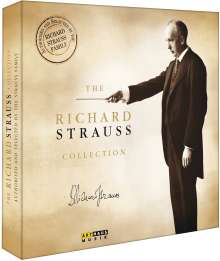 Richard Strauss (1864-1949): The Richard Strauss Collection, 11 DVDs