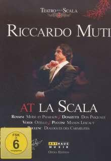 Riccardo Muti At La Scala, 6 DVDs