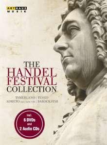 Georg Friedrich Händel (1685-1759): The Händel Festival Collection, 7 DVDs und 1 CD