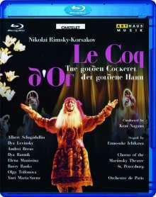 Nikolai Rimsky-Korssakoff (1844-1908): Der goldene Hahn, Blu-ray Disc