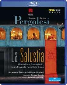 Giovanni Battista Pergolesi (1710-1736): La Salustia, Blu-ray Disc