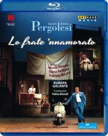 Giovanni Battista Pergolesi (1710-1736): Lo Frate 'nnammurato, Blu-ray Disc