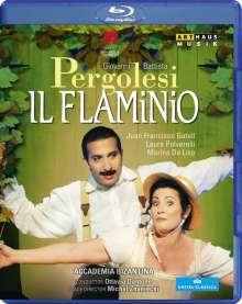 Giovanni Battista Pergolesi (1710-1736): Il Flaminio, Blu-ray Disc