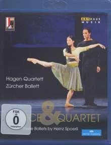 Zürcher Ballett - Dance & Quartet, Blu-ray Disc
