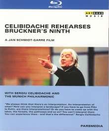 Celibidache Rehearses Bruckner's Ninth (Dokumentation), Blu-ray Disc