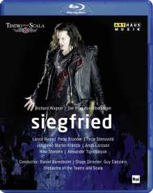 Richard Wagner (1813-1883): Siegfried, Blu-ray Disc