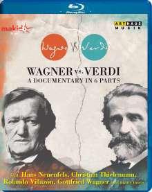 Wagner vs. Verdi - Eine Dokumentation in 6 Teilen, Blu-ray Disc