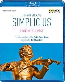 Johann Strauss II (1825-1899): Simplicius, Blu-ray Disc