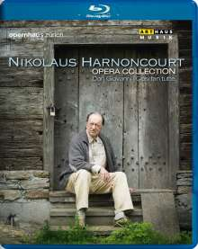 Nikolaus Harnoncourt - Opera Collection, Blu-ray Disc
