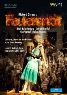 Richard Strauss (1864-1949): Feuersnot, DVD