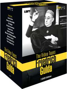 Friedrich Gulda - The Video Tapes, 7 DVDs