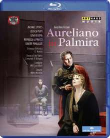 Gioacchino Rossini (1792-1868): Aureliano in Palmira, Blu-ray Disc