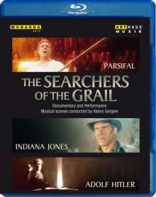 Richard Wagner - The Searchers of the Grail (Blu-ray), DVD