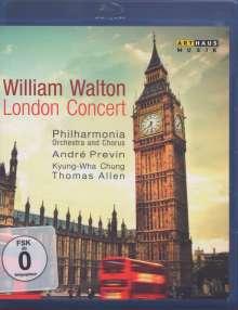 William Walton (1902-1983): William Walton - London Concert, Blu-ray Disc
