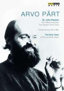 Arvo Pärt (geb. 1935): Passio Domini Nostri (Johannes-Passion), DVD