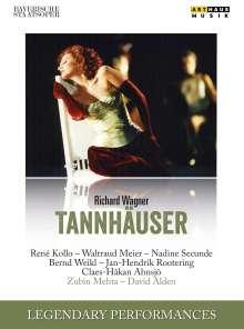 Richard Wagner (1813-1883): Tannhäuser, DVD