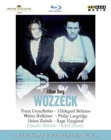 Alban Berg (1885-1935): Wozzeck, Blu-ray Disc