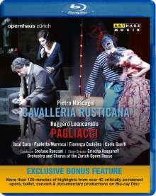 Pietro Mascagni (1863-1945): Cavalleria Rusticana, Blu-ray Disc