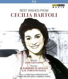 Cecilia Bartoli - Best Wishes From Cecilia Bartoli, 3 Blu-ray Discs