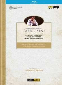 Giacomo Meyerbeer (1791-1864): L'Africana, Blu-ray Disc