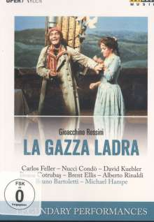 Gioacchino Rossini (1792-1868): La Gazza Ladra (Die diebische Elster), DVD