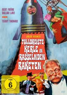 Tolldreiste Kerle in rasselnden Raketen, DVD